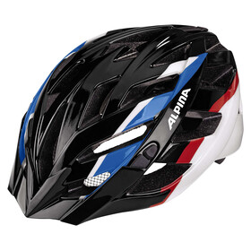 Alpina Panoma Helmet black-blue-red